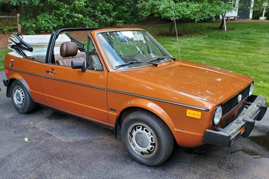 No Reserve: One-Owner 1980 Volkswagen Rabbit Convertible 5-Speed