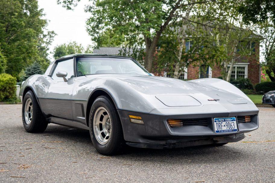 No Reserve: 1981 Chevrolet Corvette 4-Speed