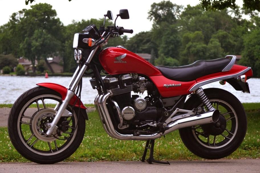 No Reserve: 1984 Honda CB650SC Nighthawk