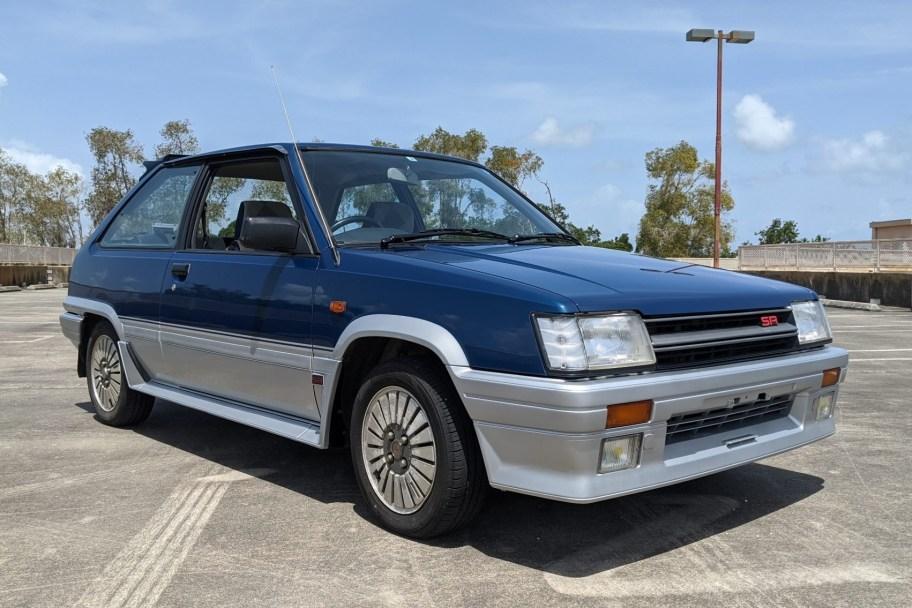 No Reserve: 1985 Toyota Corolla II 1.5 SR