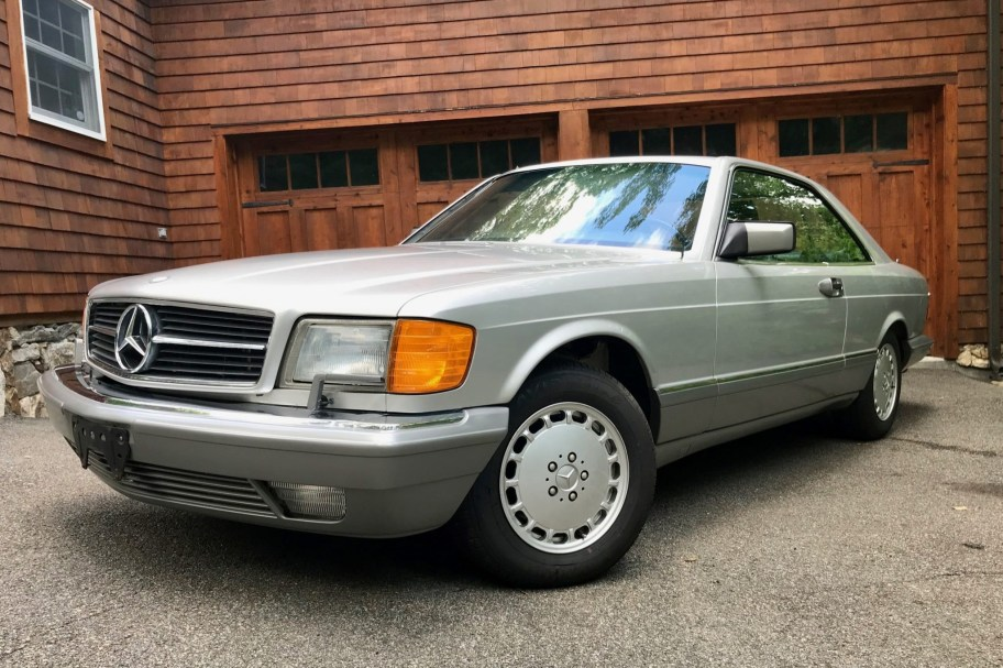 23k-Mile 1987 Mercedes-Benz 560SEC
