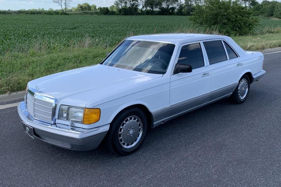 No Reserve: 1987 Mercedes-Benz 560SEL