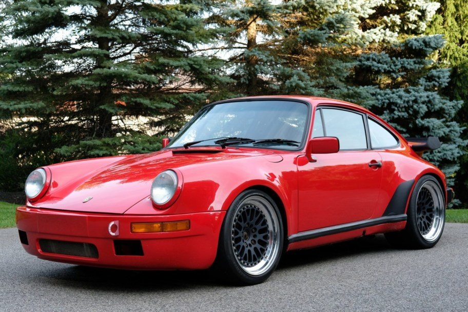 No Reserve: Modified 1987 Porsche 911 Turbo Coupe