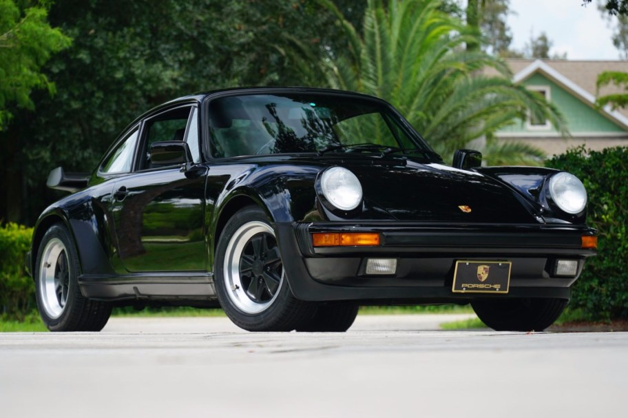 No Reserve: 15k-Mile 1987 Porsche 911 Turbo