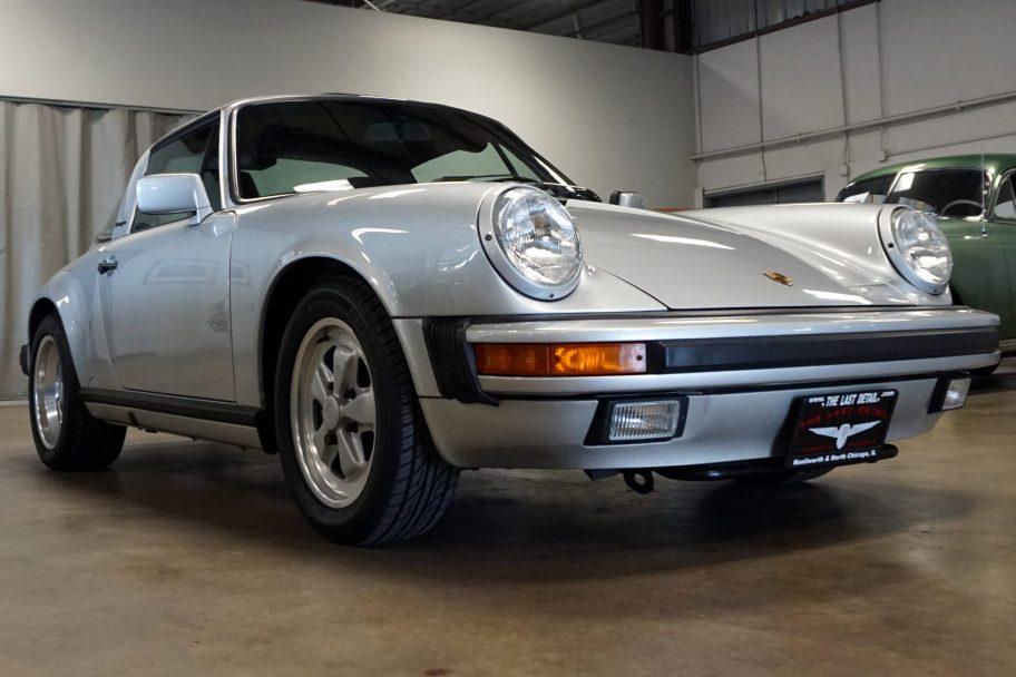 Original-Owner 1989 Porsche 911 Carrera Targa G50