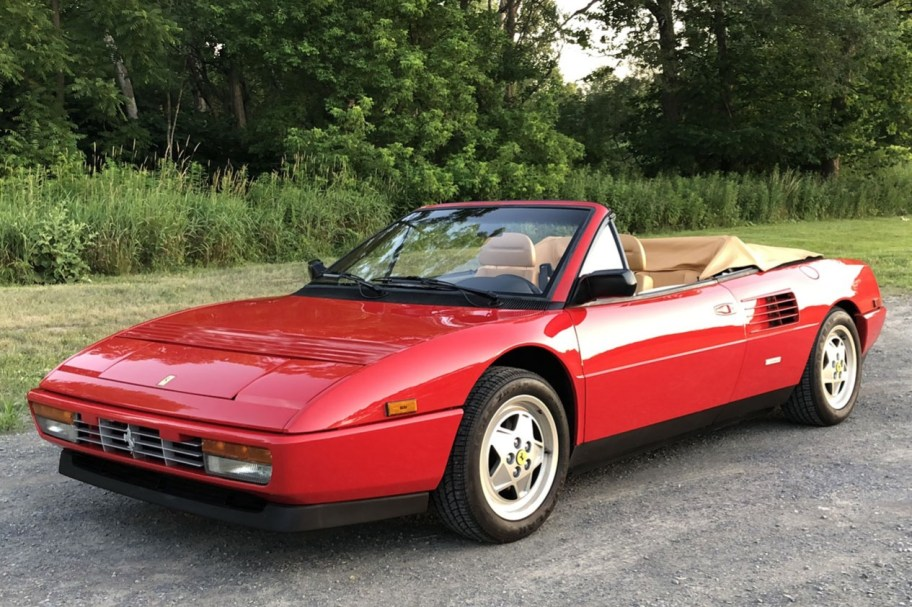 5k-Mile 1990 Ferrari Mondial T Cabriolet