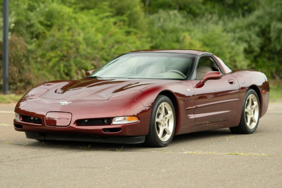 8k-Mile 2003 Chevrolet Corvette Coupe 50th Anniversary 6-Speed