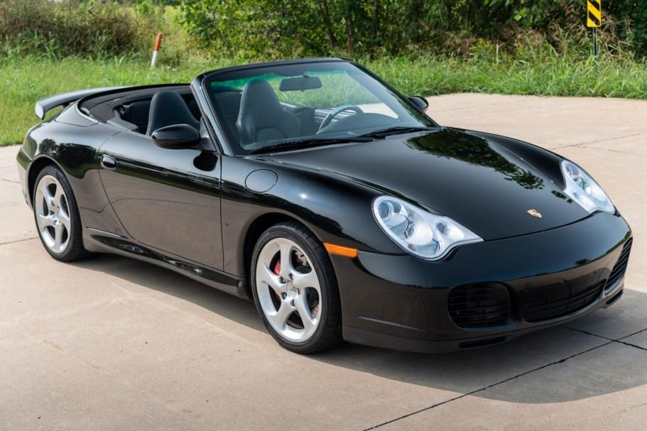 26k-Mile 2004 Porsche 911 Carrera 4S Cabriolet 6-Speed