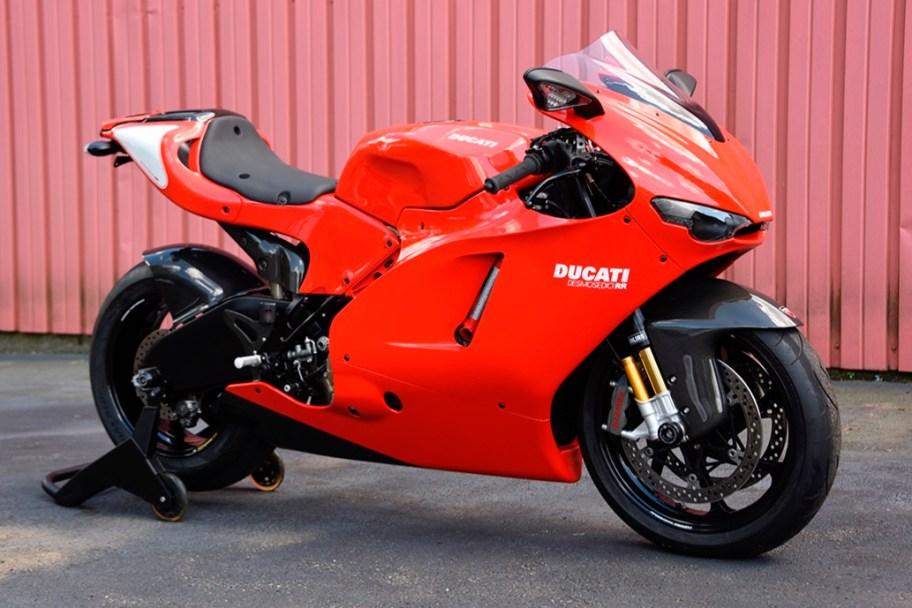 1,500-Mile 2008 Ducati Desmosedici RR