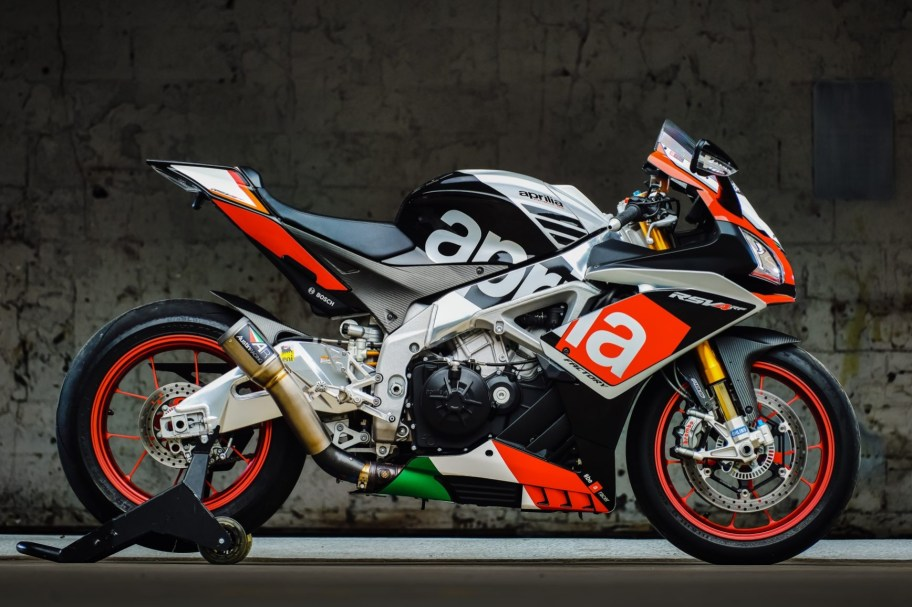 No Reserve: 3k-Mile 2016 Aprilia RSV4 RF Limited Edition