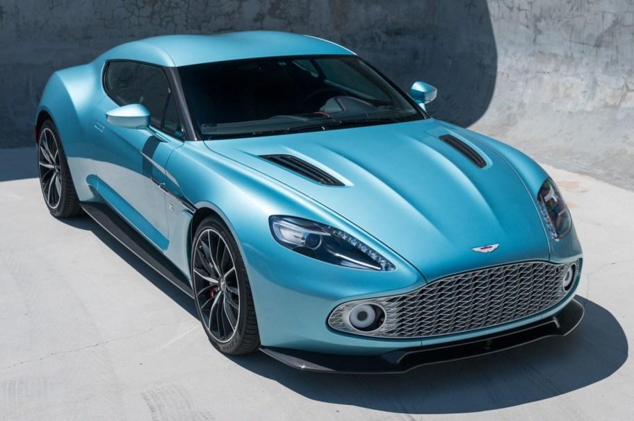2018 Aston Martin Vanquish Zagato Coupe