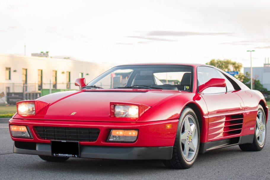 12k-Mile 1992 Ferrari 348 TB