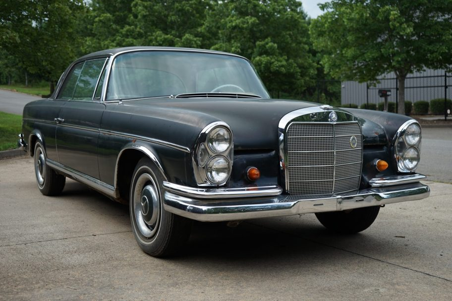 1966 Mercedes-Benz 300SE Coupe Project