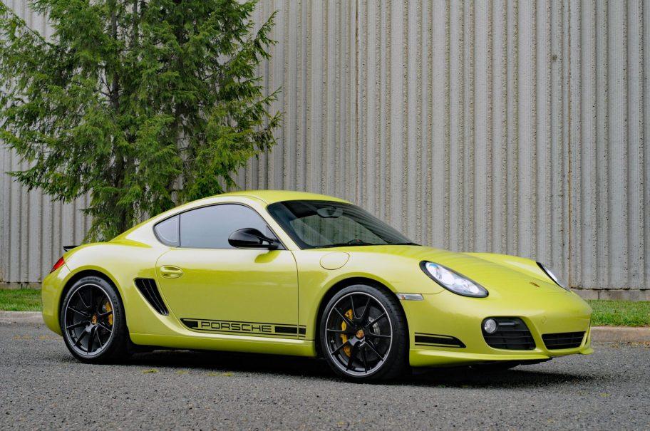 No Reserve: 32k-Mile 2012 Porsche Cayman R 6-Speed