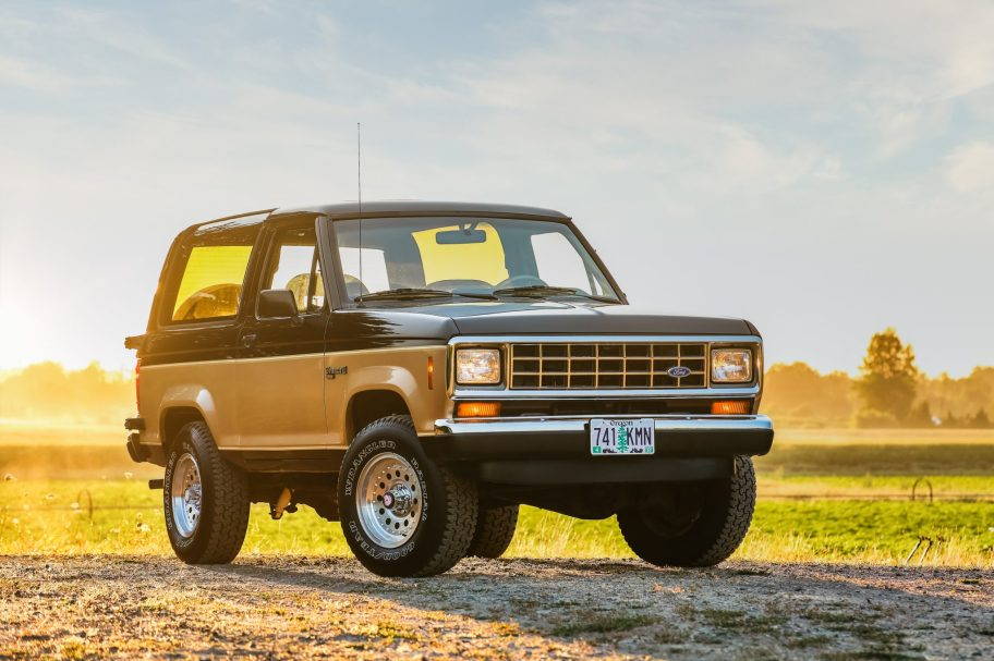 No Reserve: 1988 Ford Bronco II XLT