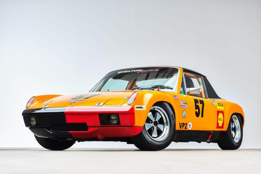 Twin-Plug 2.7L-Powered 1970 Porsche 914-6 Race Car