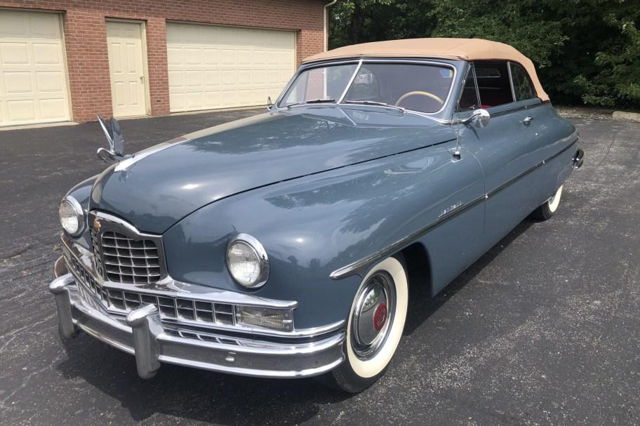 1949 Packard Super Eight Victoria Convertible