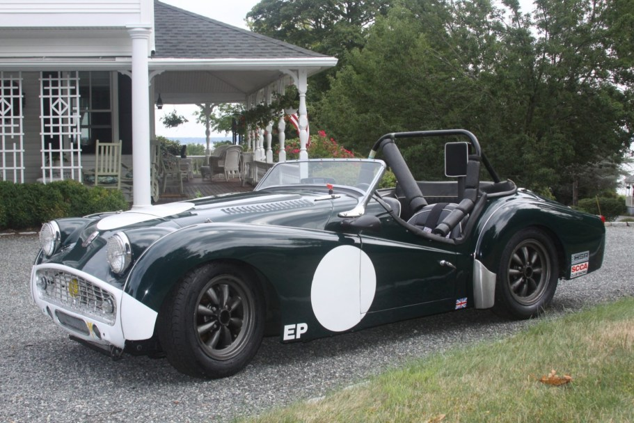 Modified 1957 Triumph TR3A 2.1L
