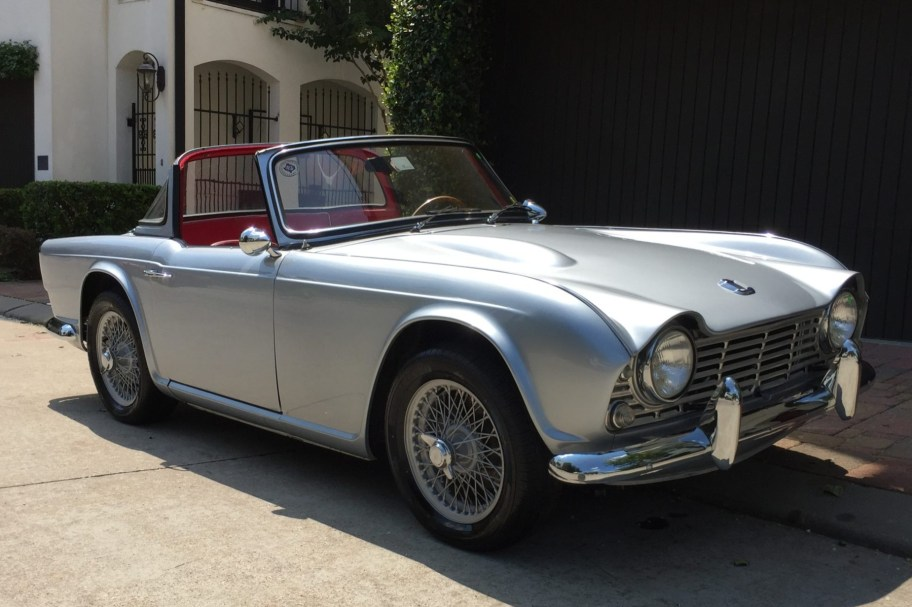 Modified 1964 Triumph TR4 Surrey Top