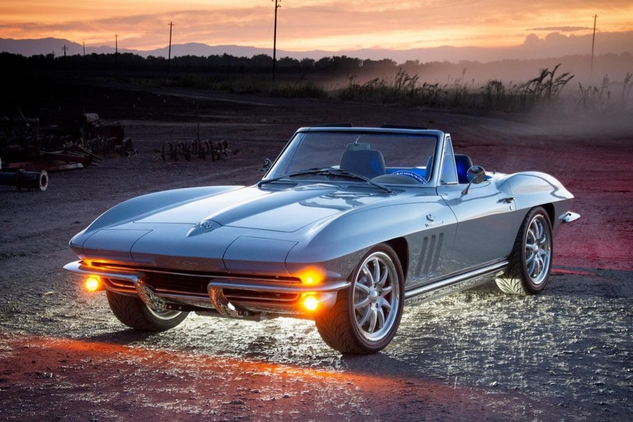 LS6-Powered 1965 Chevrolet Corvette Convertible 5-Speed