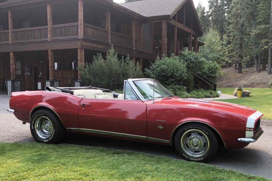 Modified 1967 Chevrolet Camaro Convertible 350 5-Speed