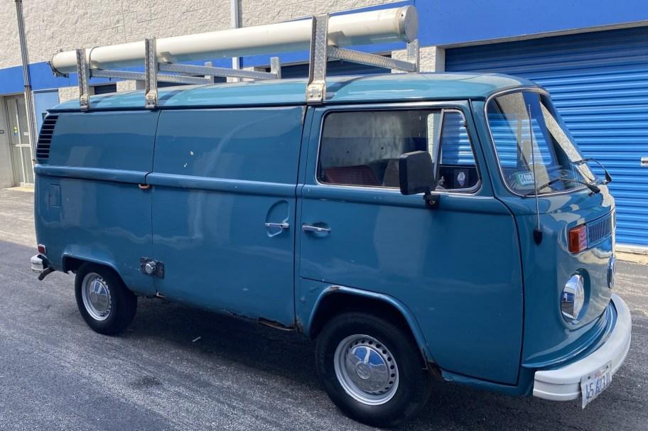 No Reserve: 1973 Volkswagen Bus Panel Van