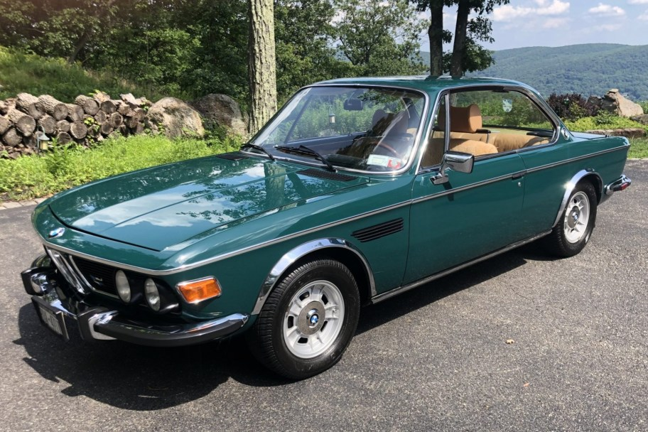 32-Years-Owned Euro 1974 BMW 3.0CSi 5-Speed
