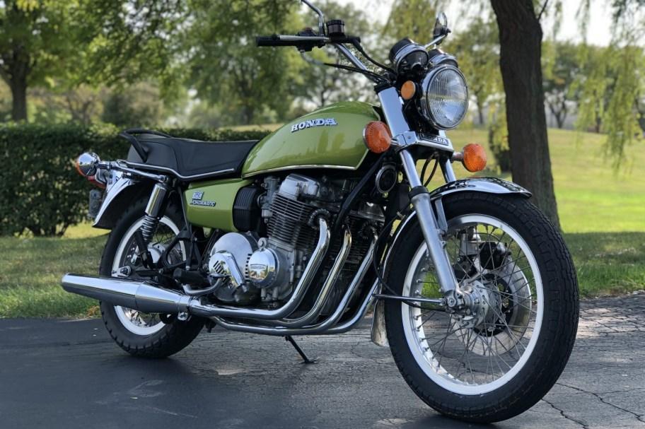 No Reserve: 1976 Honda CB750A Hondamatic