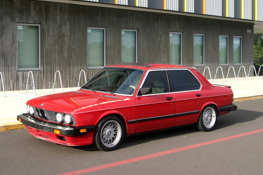 No Reserve: 1987 BMW 535is Project