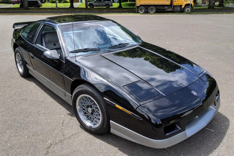 No Reserve: 31k-Mile 1987 Pontiac Fiero GT 5-Speed