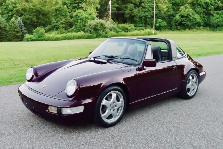 1991 Porsche 911 Targa 2 5-Speed