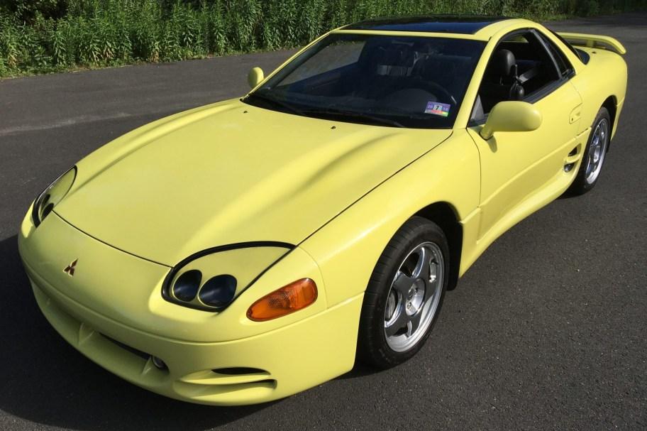 19k-Mile 1994 Mitsubishi 3000GT VR4 6-Speed
