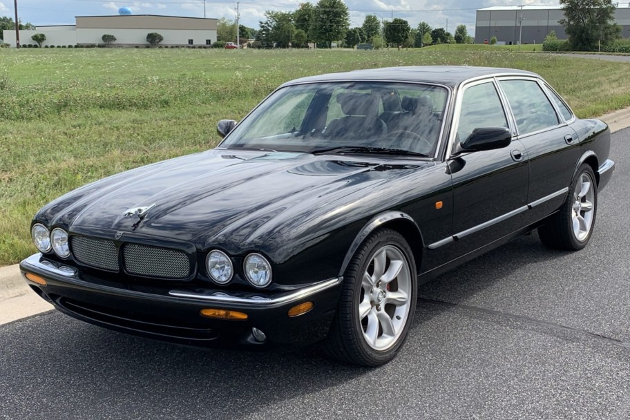 No Reserve: 1998 Jaguar XJR