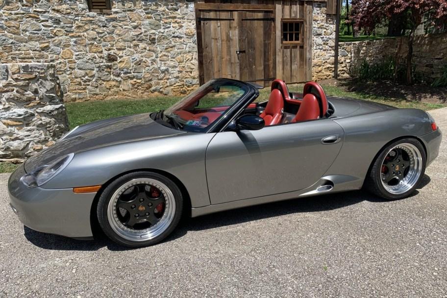 2001 Porsche Boxster S Concept Tribute 6-Speed