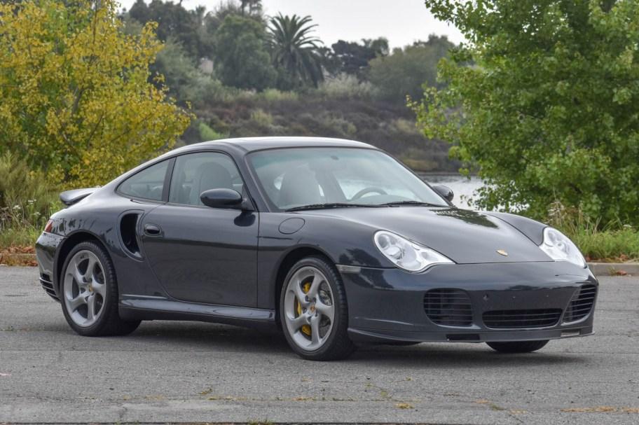 12k-Mile 2005 Porsche 911 Turbo S Coupe 6-Speed