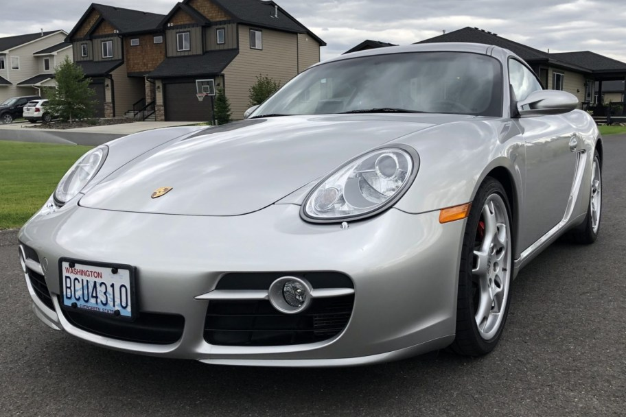 35k-Mile 2006 Porsche Cayman S 6-Speed