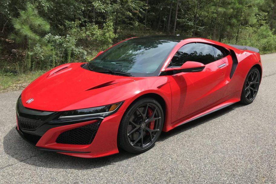 800-Mile 2018 Acura NSX