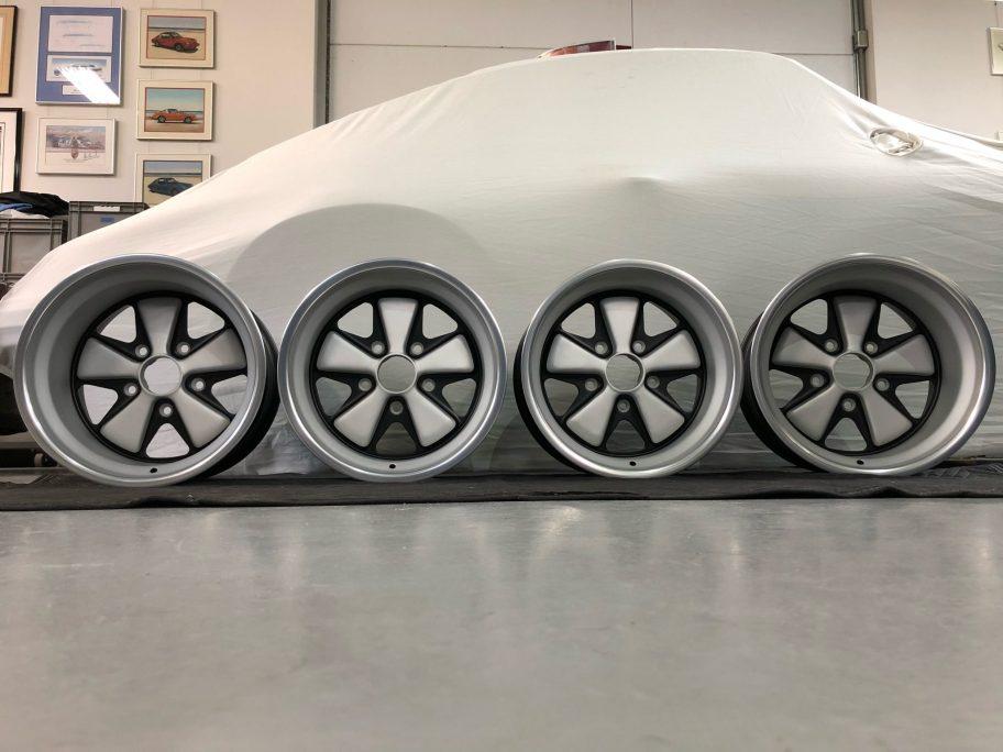 No Reserve: 15×9″ and 11″ Fuchs Wheels