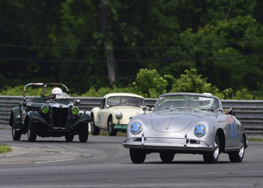 Racing a Porsche 356A in the Empire Cup at Lime Rock