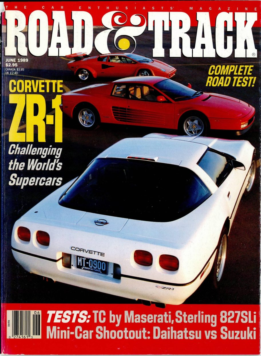 Road & Track Road Test: 1990 Chevy Corvette ZR-1