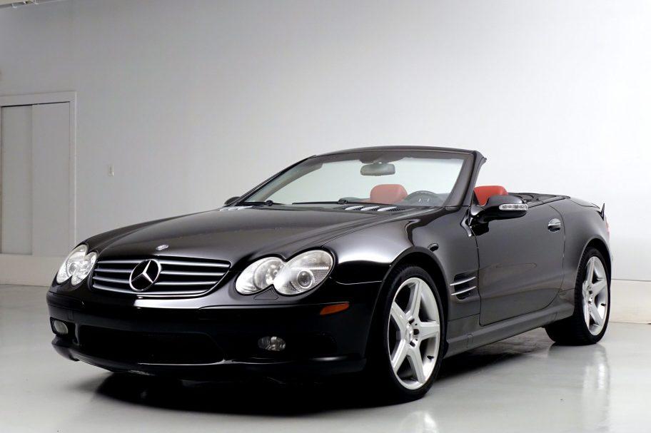 No Reserve: 47k-Mile 2003 Mercedes-Benz SL500