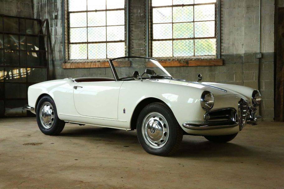 No Reserve: 1957 Alfa Romeo Giulietta Spider