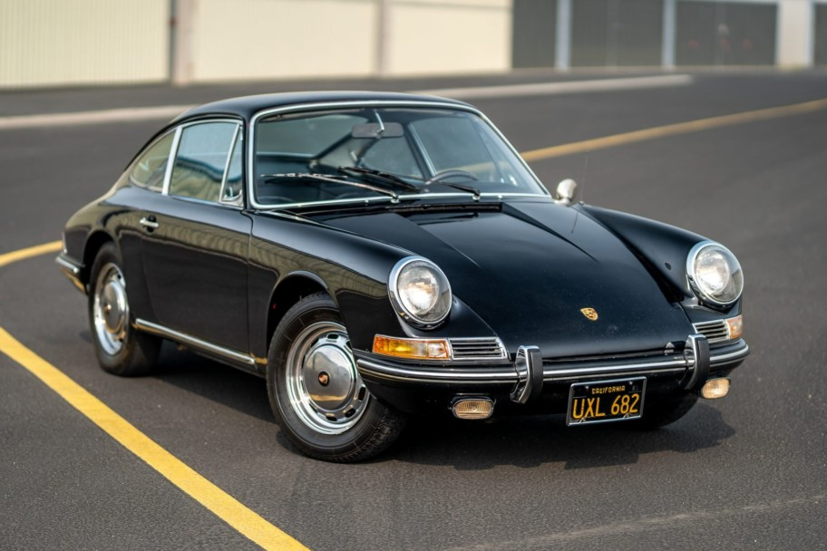 Black-Plate 1967 Porsche 911 Coupe