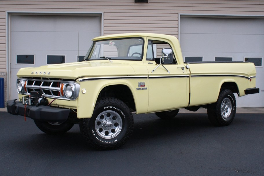 1969 Dodge A200 Power Wagon 4-Speed