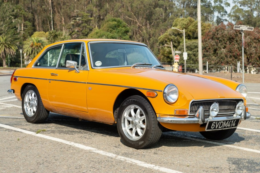 No Reserve: 1970 MG MGB GT
