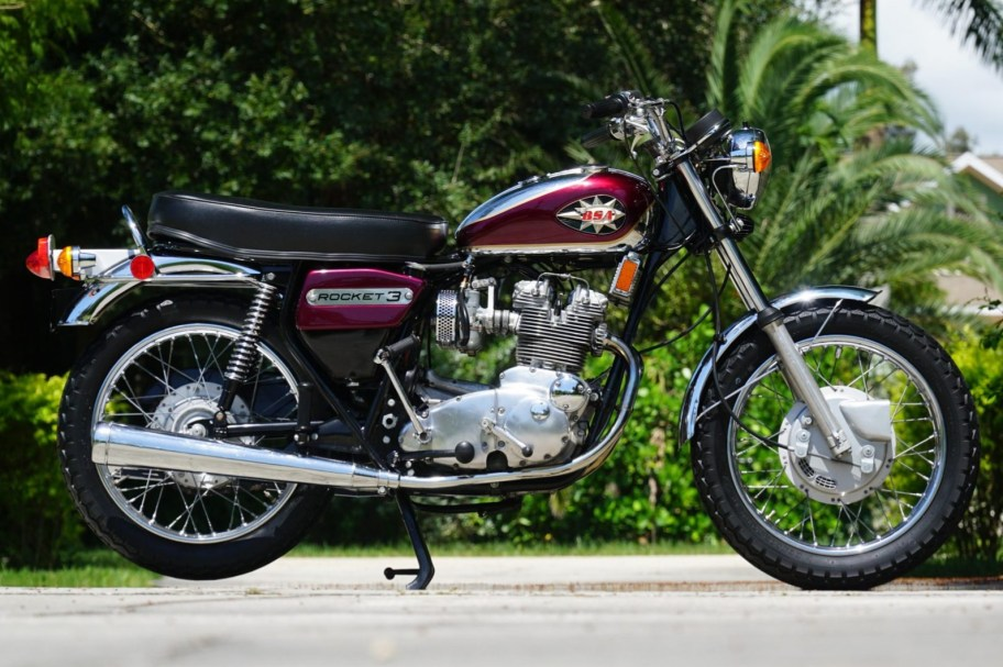 No Reserve: 1971 BSA Rocket 3