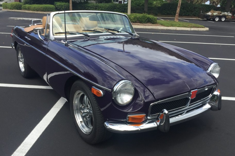 No Reserve: 1973 MG MGB Roadster