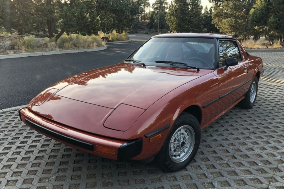 No Reserve: 1979 Mazda RX-7 5-Speed