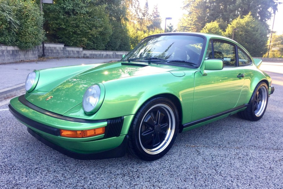 Modified 1979 Porsche 911SC Twin-Plug 3.2L