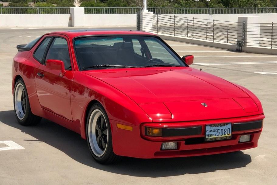 No Reserve: 1984 Porsche 944 5-Speed